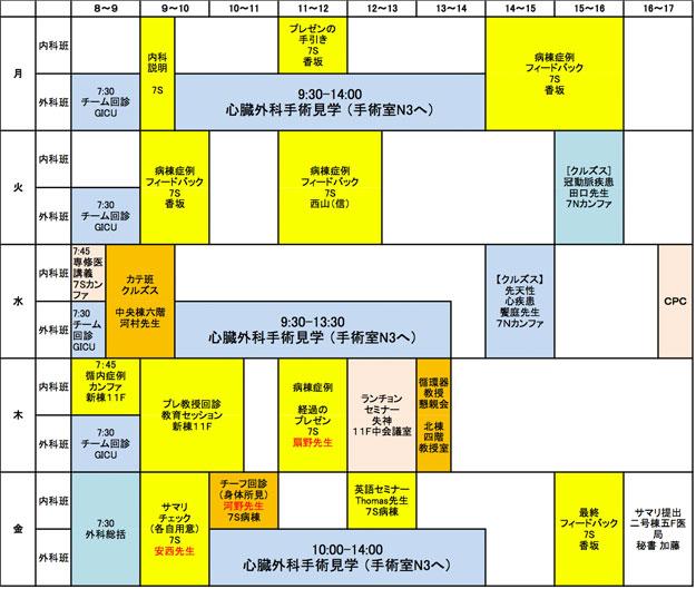 学生教育(スケジュール・系統講義・筆記試験)   慶應義塾 ...